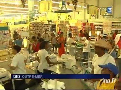 [Grève Martinique supermarché]
