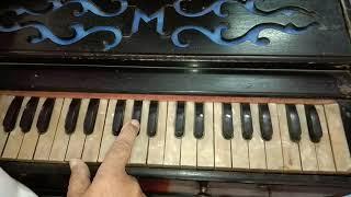 Udja Kale Kawan |Gadar : Ek Prem Katha | Harmonium Tutorial | Piano/ Keyboard Tutorial