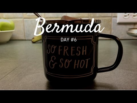 Bermuda Day #6 - Bermuda Caves, Hot Chocolate & (almost) GETTING LOST!!!