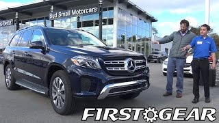2017 Mercedes-Benz GLS 450 4MATIC SUV - First Gear - Review and Test Drive