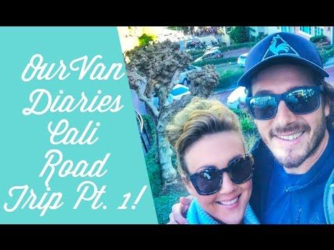 Van Life: Our Van Diaries Cali Road Trip Pt. 1: California Coast, Big Sur, San Francisco & Yosemite!