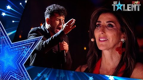 This SINGER makes Paz Padilla CRY with emotion   Semifinal 02   Spain's Got Talent 2021