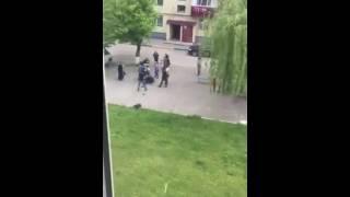 Драка в Грозном