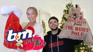 B&M £20 XMAS STOCKING FILLER CHALLENGE - HIS & HERS | ELLE DARBY