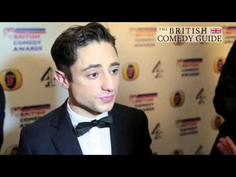 Ryan Sampson - British Comedy Awards 2013