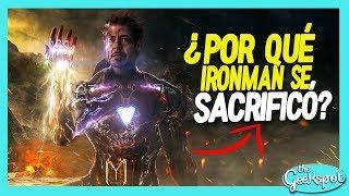 ¿Por qué Iron Man se SACRIFICÓ?😫 Puntos Claves de Avengers Endgame
