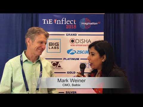 Mark Weiner's Interview at TiETV Lounge #ooneemedia #TieInflect @TiEinflect 2018 @mweiner