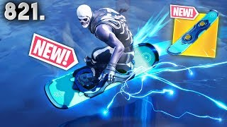 *LEAKED* HOVERBOARD FOOTAGE! (Gameplay) - Fortnite Funny WTF Fails and Daily Best Moments Ep. 821