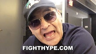 "RYAN GARCIA'S DAD GOES IN ON ""IDIOT"" TEOFIMO LOPEZ SR.; GETS SERIOUS ON ""PAPER CHAMP"" HANEY & ROLLY"