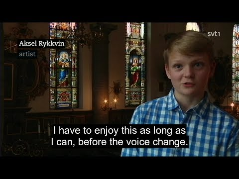 Aksel Rykkvin | SVT news feature (English subs) | Stockholm Early Music Festival | June 2017