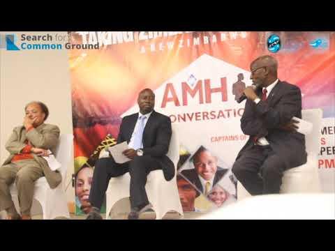 Ibbo Mandaza Dialogue on what needs to be done to Take Zimbabwe Forward #myzimvision