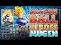 Dragon Ball Heroes Mugen - Gameplay [720p]