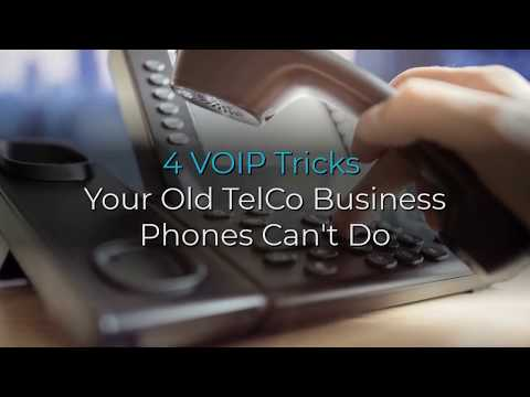 4 VOIP Tricks Your Old TelCo Business Phones Can't Do