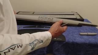 manta mono hydrofoil all in one assembly