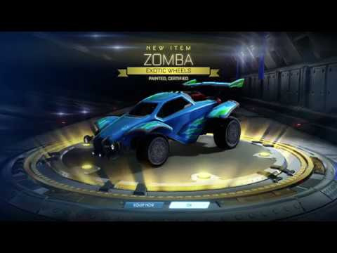 I WANTED pearlescent ( MATTE ) but THE GAME GIVES ME THIS.. WTF Rocket League