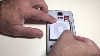 how to convert your samsung galaxy s5 to wireless charging and keep nfc capabilities