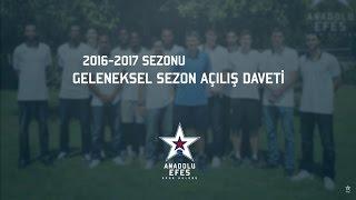 Anadolu Efes Geleneksel Sezon Açılış Daveti