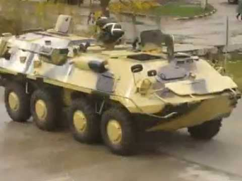 Military Vehicles (Romania): UAM Saur-1 8x8 Amphibious APC (Forţele Terestre Române)