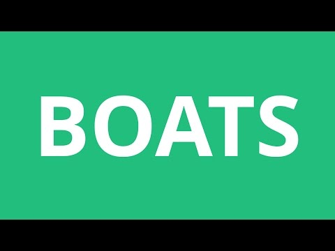 How To Pronounce Boats - Pronunciation Academy