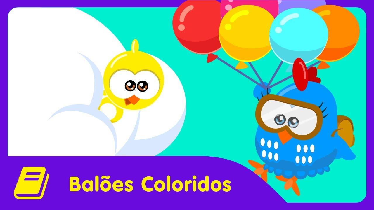 Galinha Pintadinha Mini Historinha Baloes Coloridos Youtube