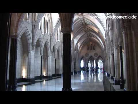 Ottawa, Parliament, Centre Block - Canada HD Travel Channel