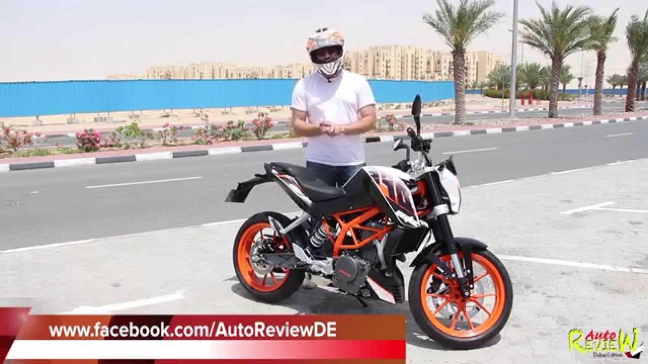 2014 ktm 390 duke - autoreview - dubai - bike edition (episode 1