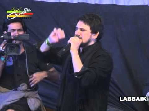 Farhan Ali Waris Live in Lucknow...Pakistan's Famous Nauhakhwan in India 1435 Video Part 2