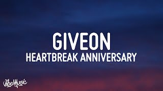 Giveon - Heartbreak Anniversary