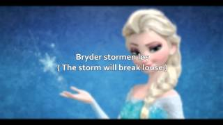 Repeat youtube video Let It Go (Danish with S+T) - Disney's Frozen