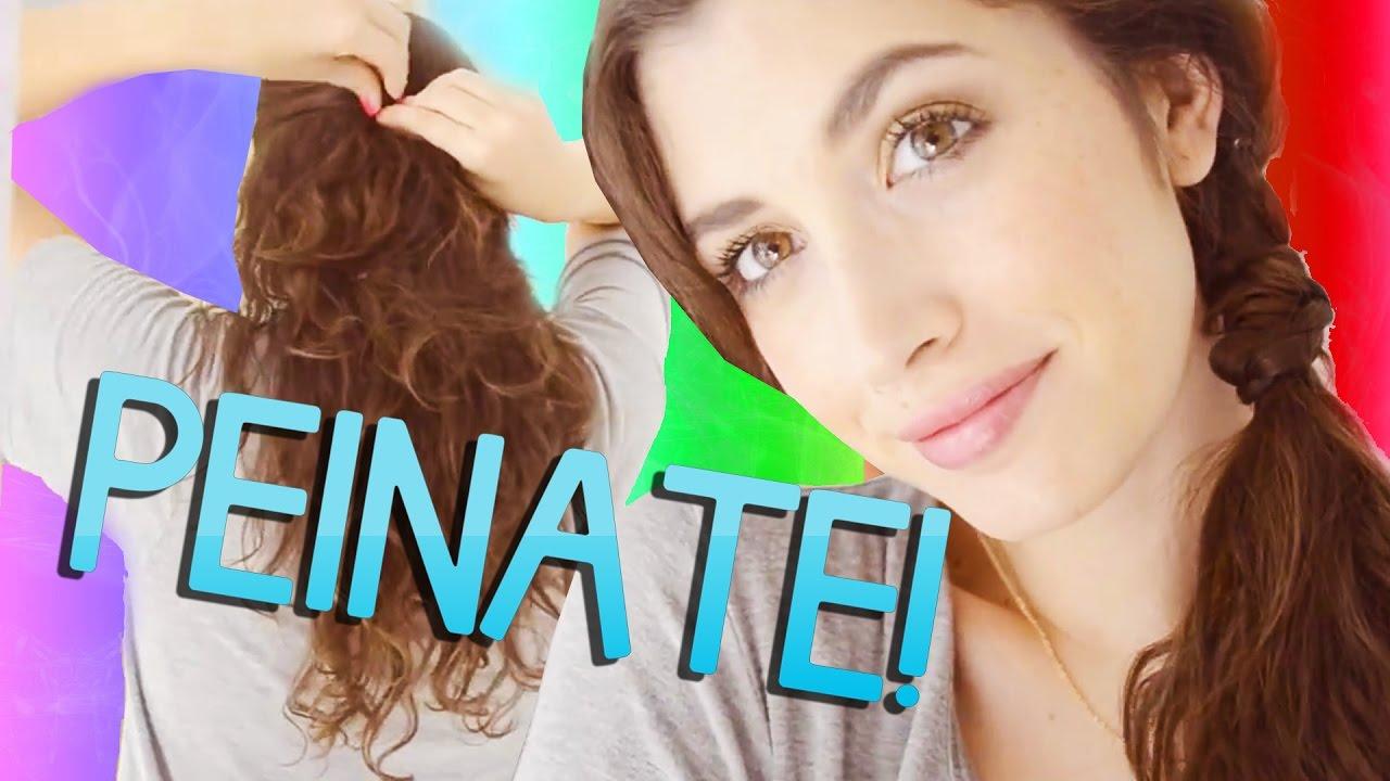 Peinados Faciles Y Rapidos De Uso Diario Para Perezosas Youtube