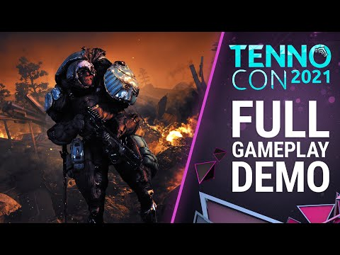 TennoCon 2021   The New War   Full 30-Minute Gameplay Demo   Official