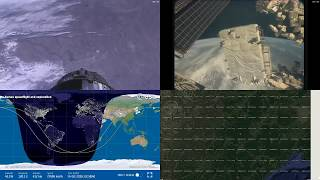 Asian Coastlines - NASA/ESA ISS LIVE Space Station With Map - 208 - 2018-10-14