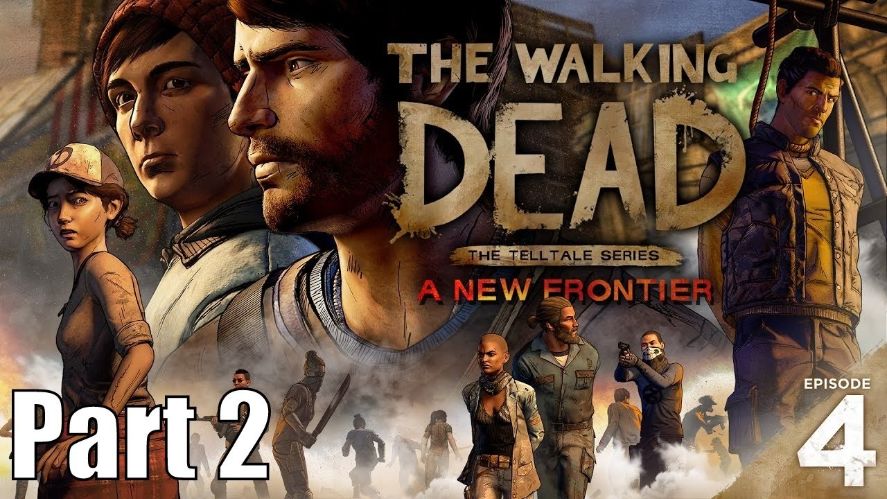 I GOT STABBED - The Walking Dead: A New Frontier Episode 4 Part 2 - On a dangerous hunt for weapons with Gabe, Javier gets stabbed! Clementine gets her first period.