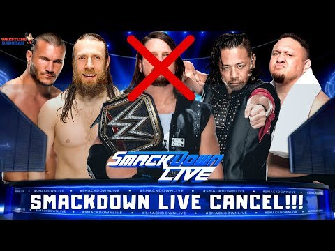WWE SMACKDOWN LIVE GETTING CANCELLED??!! | RANDY ORTON Injured!!! |