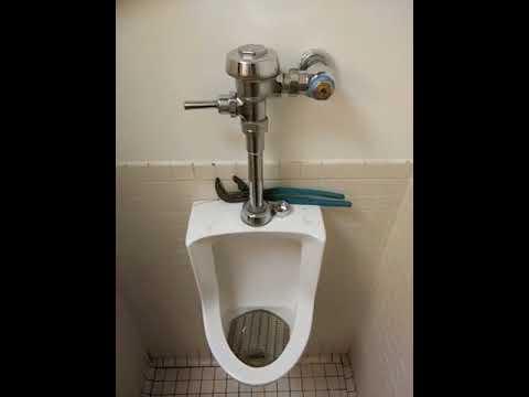 water hammer sound in urinal part 1