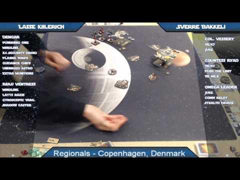 X-Wing Battle Report 68 - Copenhagen Regional, Round 6