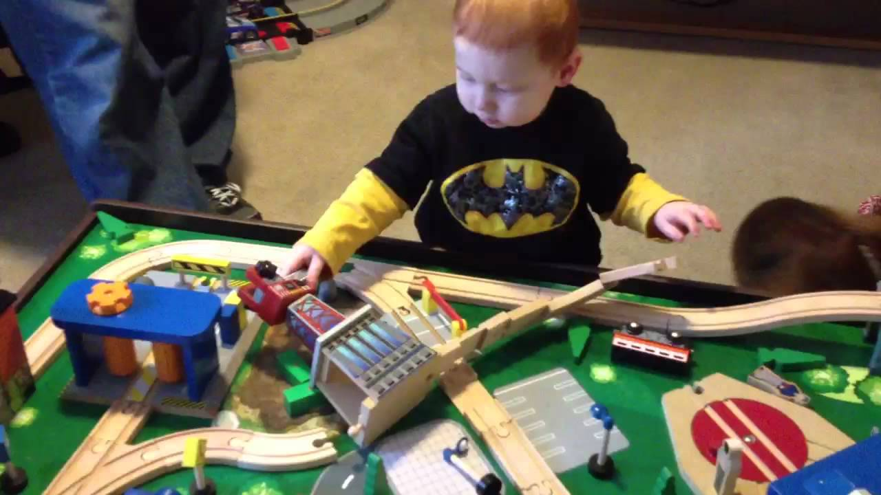 Imaginarium Train Table - YouTube