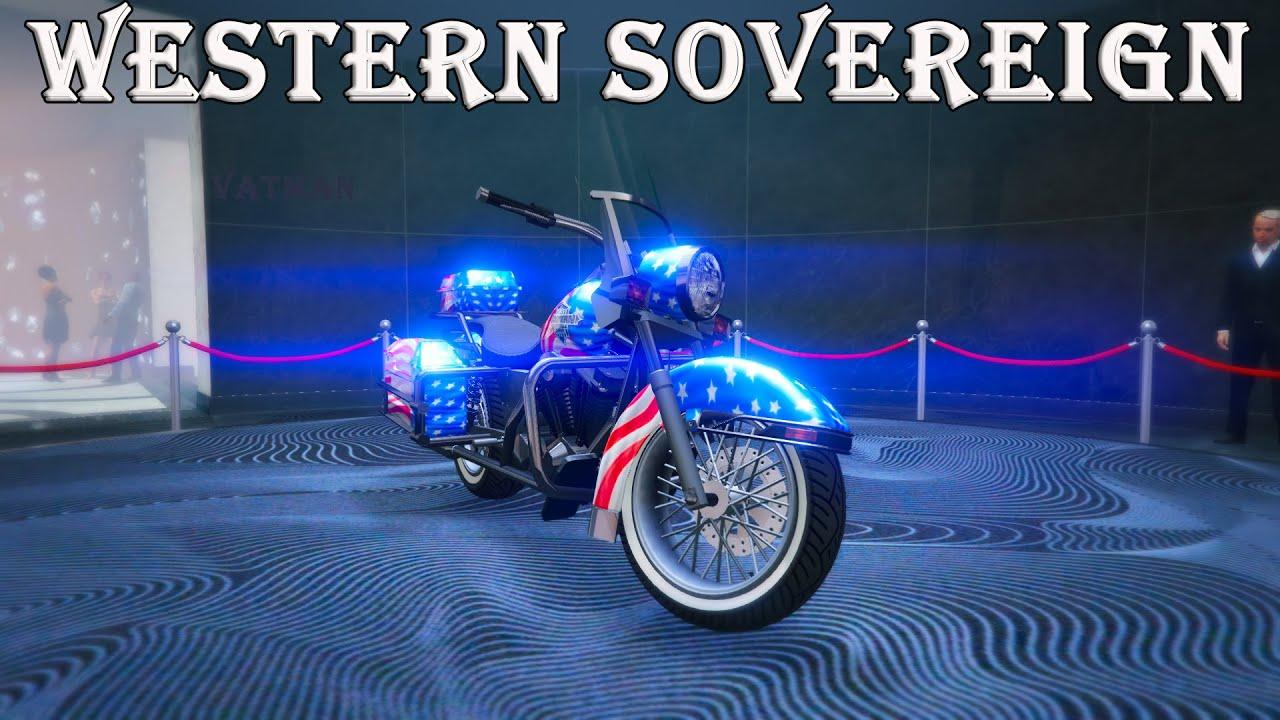 Western Sovereign. Стоит ли покупать? Гонки со зрителями в GTA Online.
