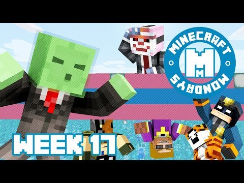 MINECRAFT MONDAY!!! WEEK 17 (SPLEEF ME DADDY!!)