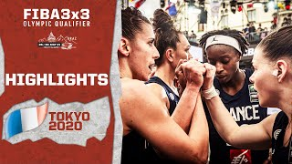 Guapo, Touré & Co.! France To The Olympics   Highlights   FIBA 3x3 Olympic Qualifier