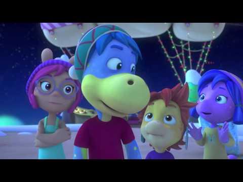 Les aventures de Dino le dinosaure - La nuit de Noël enneigée