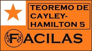 CAYLEY HAMILTON 5 (ESPERANTO)