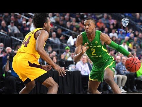 2019 Pac-12 Men's Basketball Tournament: No. 6 Seed Oregon Edges No. 2 Arizona State, Will Face...