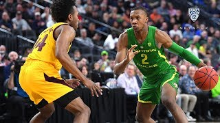 2019 Pac-12 Men's Basketball Tournament: No. 6 seed Oregon edges No. 2 Arizona State, will face...