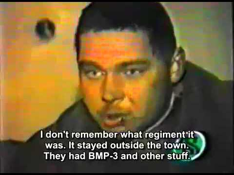 Survivors from Maikop Brigade tells what happened during the assault to Grozny.  [SUB-ENG]