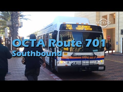 tmn-|-transit---octa-route-701-los-angeles-to-huntington-beach-(southbound)-full-ride