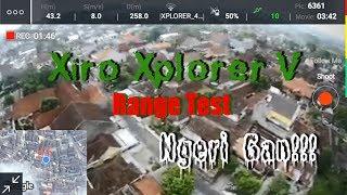 Xiro Xplorer V Range Test