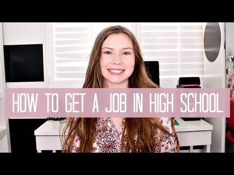 How to Get a Job as a Teen Tips + My Experience - YouTube