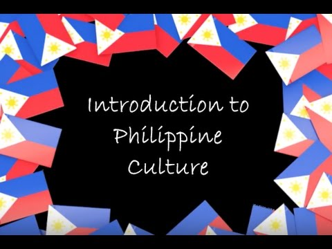 Intro to Philippine Culture