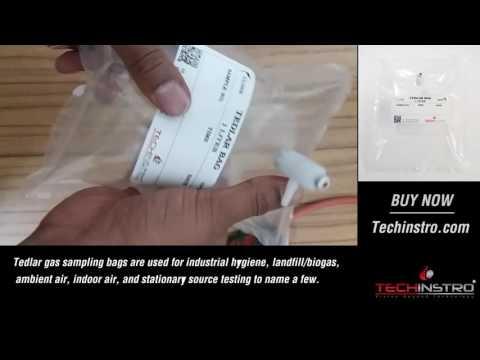 TEDLAR BAG / GAS SAMPLING BAG